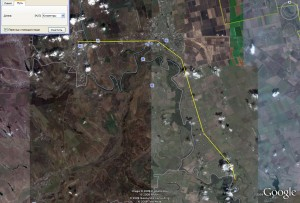 Велотур Бендеры-Чобручи (путь для от Бендер до водопада)