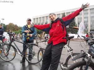 Мы в колонне Велохоры 2010