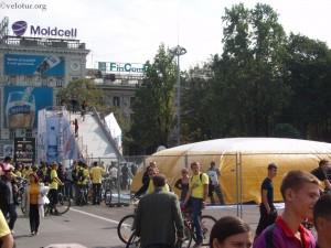 Большущая воздушная подушка BIG AIR для велосипедных прыжков