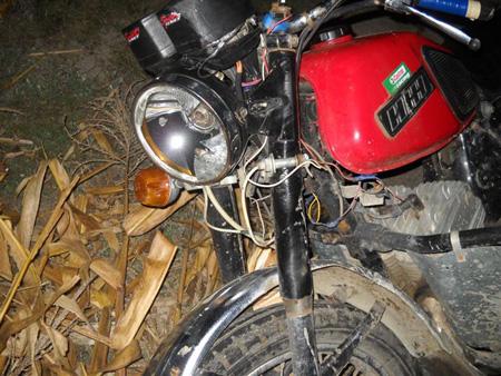 ДТП с мотоциклом Иж Юпитер-5