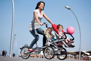Колясопед (велосипед-коляска)