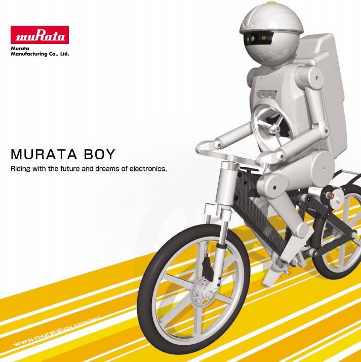 Робот-велосипедист MURATA BOY
