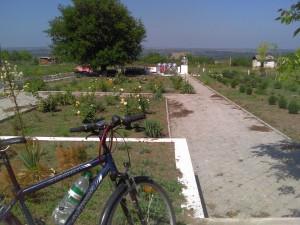 Мемориал советским воинам в селе Бутор