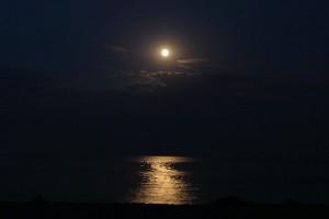 Луна, ночь у Черного моря