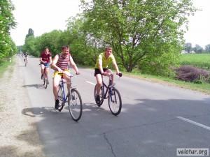 Середина нашей велосипедной группы