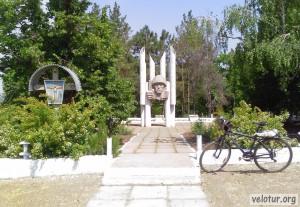 Памятник воинам освободителям в селе Калфа