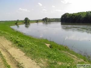Река Днестр возле Слободзеи