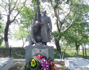 Памятник в Спее павшим советским героям