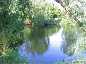 В начале Спеи со стороны Шерпен - нашли озеро