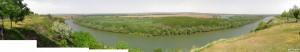 Панорама: вид со смотровой площадки Шерпенского плацдарма