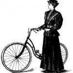 Женская велоодежда, 19 век