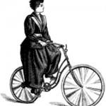 Женская велоформа, шаровары, 1895 год