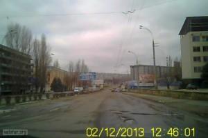 Ямы на дорогах в Бендерах