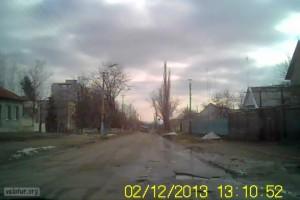Ямы на дорогах в городе Бендеры
