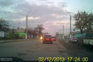 Ямы на дорогах в Тирасполе