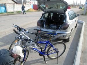 Собираем велосипеды из багажника
