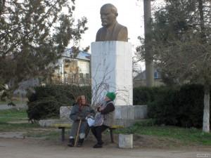 Памятник Ленину в Лиманском