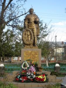 Памятник павшим героям в ВОВ 1941-1945