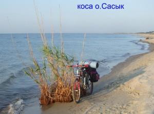 Коса озера Сасык