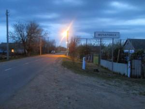 Уличное освещение в Мочаровке