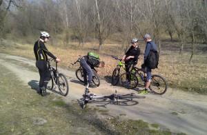 Наша компания велосипедистов