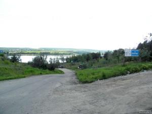 Европарк у местного озера