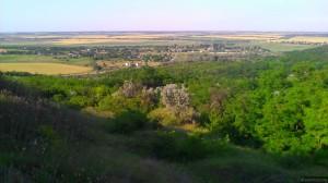 Новая Андрияшевка: вид с холма