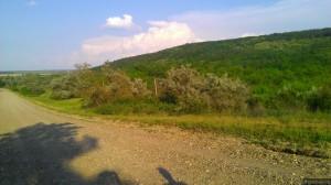 За холмом - Старая Андрияшевка