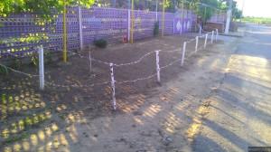 Уникальный забор в Старой Андрияшевке