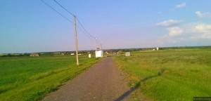 Дорога в сторону украинского села Розалёвка