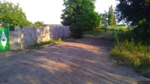 Конец дороги и села, дальше - уже Украина