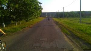Местный велосипедист